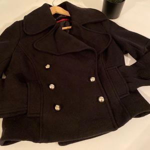 Zara short pea coat